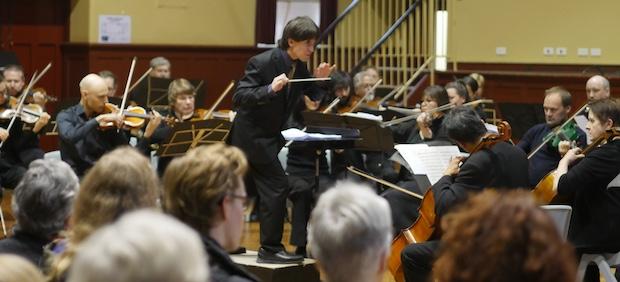 Robert Dora conducts PSO Concert June 2018